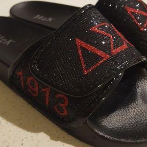 Shoes - DST Delta sigma theta sorority sandals